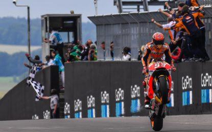 MotoGP: Marquez, pole, vittoria e leader del Campionato