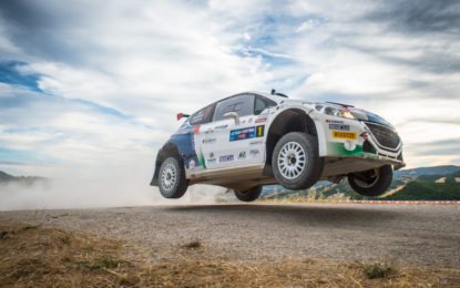 #RallySanMarino: secondo posto per Peugeot