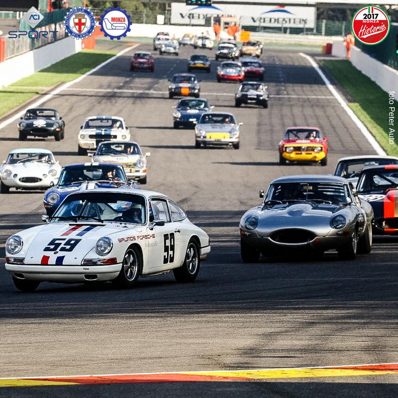 In Autodromo il fascino della Monza Historic