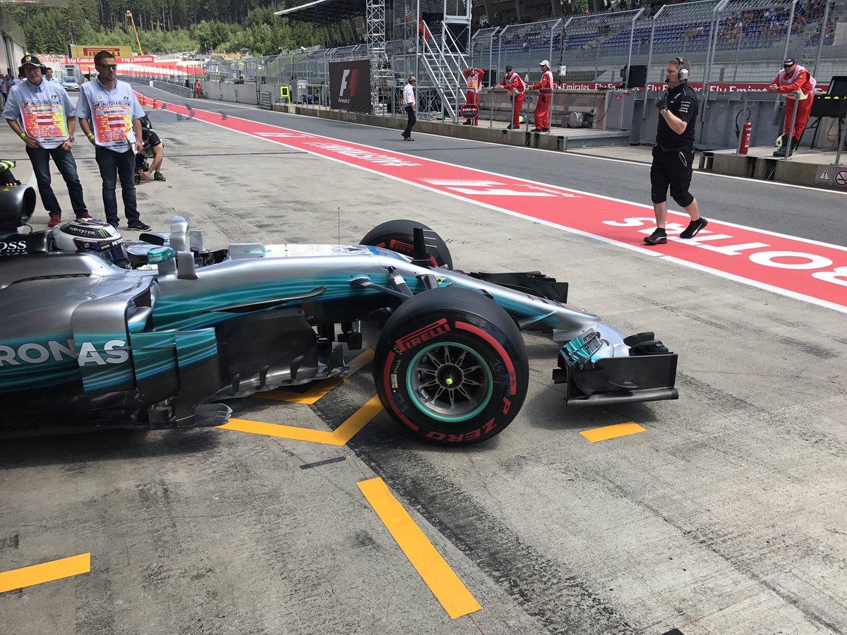 #F1: l'impegno dei freni all'#AustrianGP