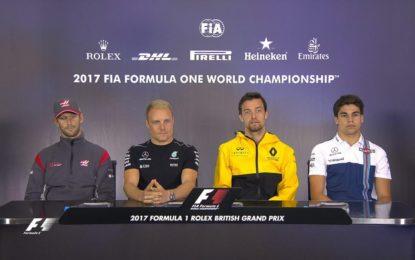 #BritishGP: il transcript conferenza stampa FIA dei piloti