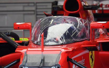 Vettel sarà il primo a testare il nuovo shield