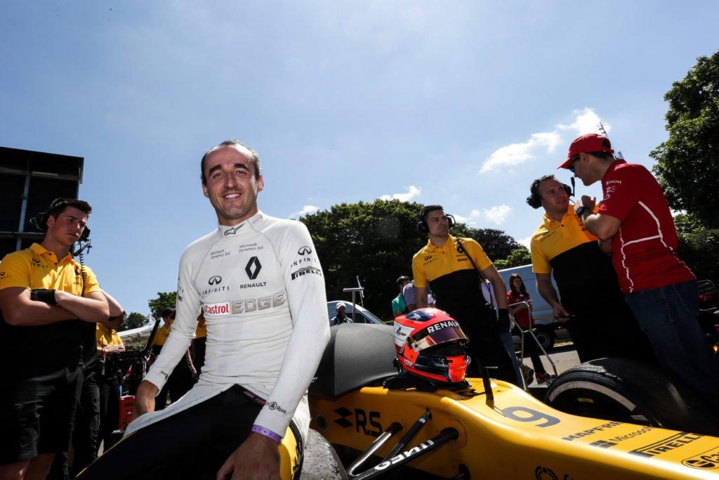 Renault sta valutando se far girare Kubica in Ungheria