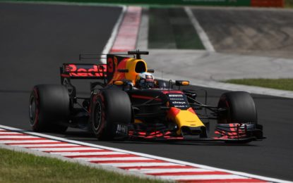 Ungheria: Ricciardo, Vettel e Bottas nelle FP2