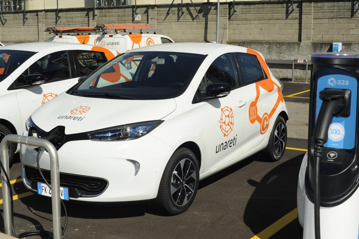 Renault ZOE nella flotta di A2A