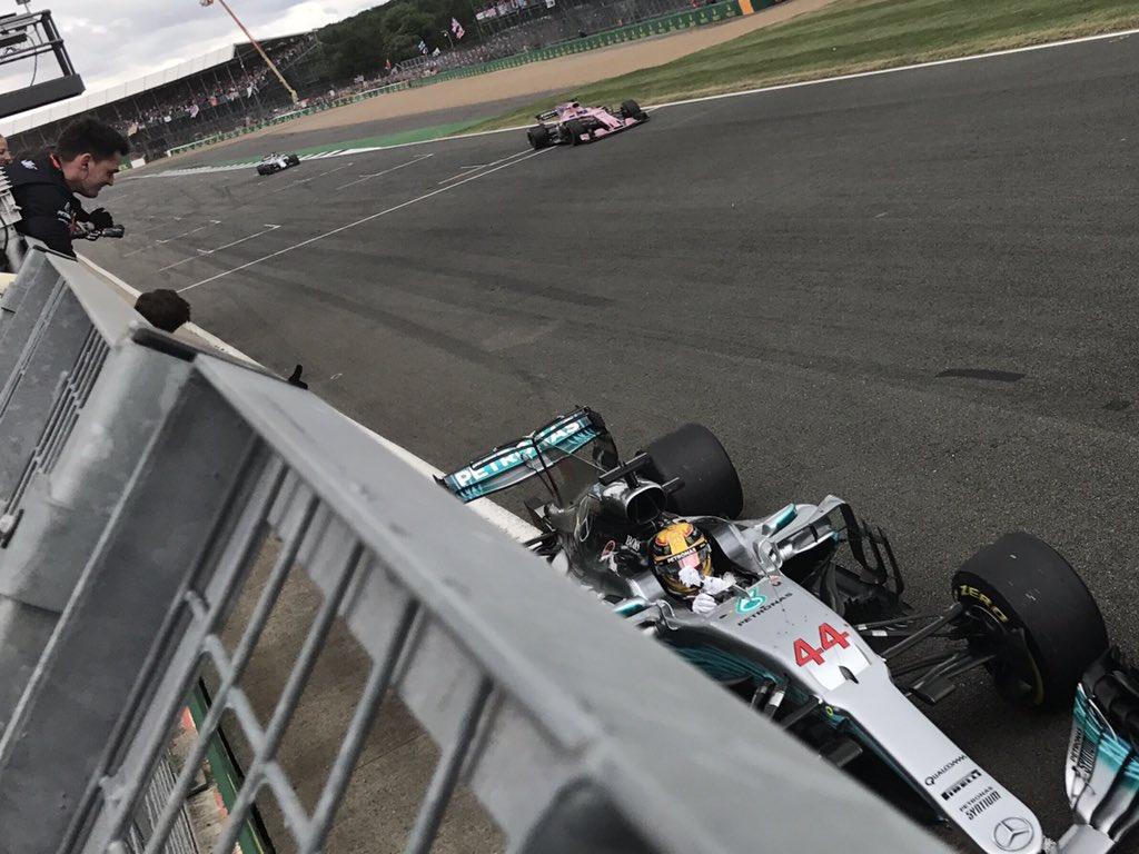 #BritishGP: dominio Hamilton, Raikkonen salva la gara Ferrari
