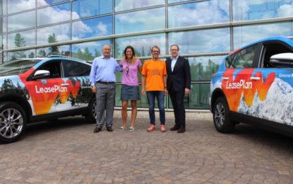 LeasePlan e Toyota con Simone Moro e Tamara Lunger