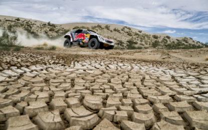 #SilkWayRally: doppio podio Peugeot nell'8° tappa