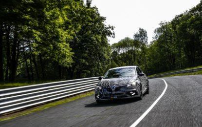 Hulkenberg prova la Nuova Renault Mégane R.S.