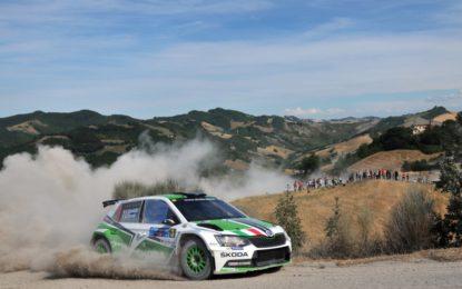 #RallySanMarino: prima tappa a ŠKODA Italia Motorsport