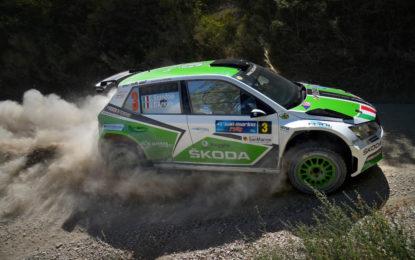 #RallySanMarino: ŠKODA e Scandola vincono anche Gara 2