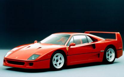 30 anni fa la presentazione della Ferrari F40