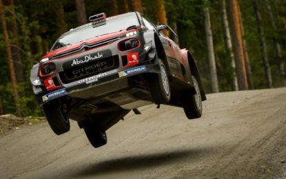 Rally Finlandia: shakedown positivo per Citroën