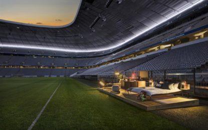 Audi e Airbnb: lo stadio diventa una casa