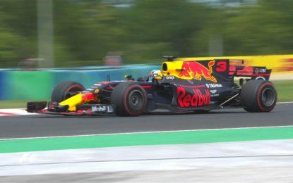 Ungheria: Ricciardo, Raikkonen e Hamilton nelle FP1