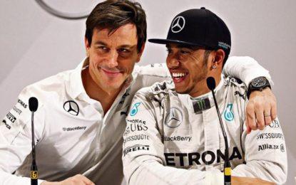 """Wolff: """"Le voci di Hamilton in Ferrari sono zero"""""""