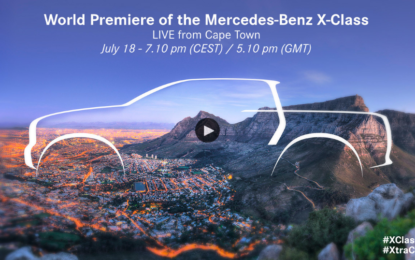 Live stream Mercedes-Benz Classe X alle 19.10