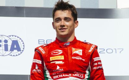 Belgio F2: rimonta spettacolare per Leclerc