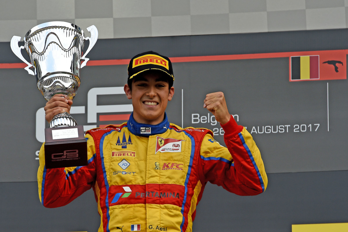 GP3: Giuliano Alesi vince anche a Spa