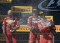F1: lo champagne è tornato sul podio