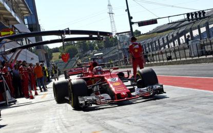 Test F1 Ungheria: il bilancio della prima giornata