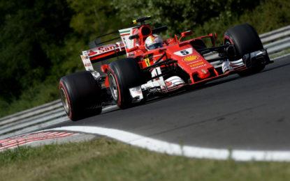 Test F1 Ungheria: Vettel 1°, nel giorno di Kubica