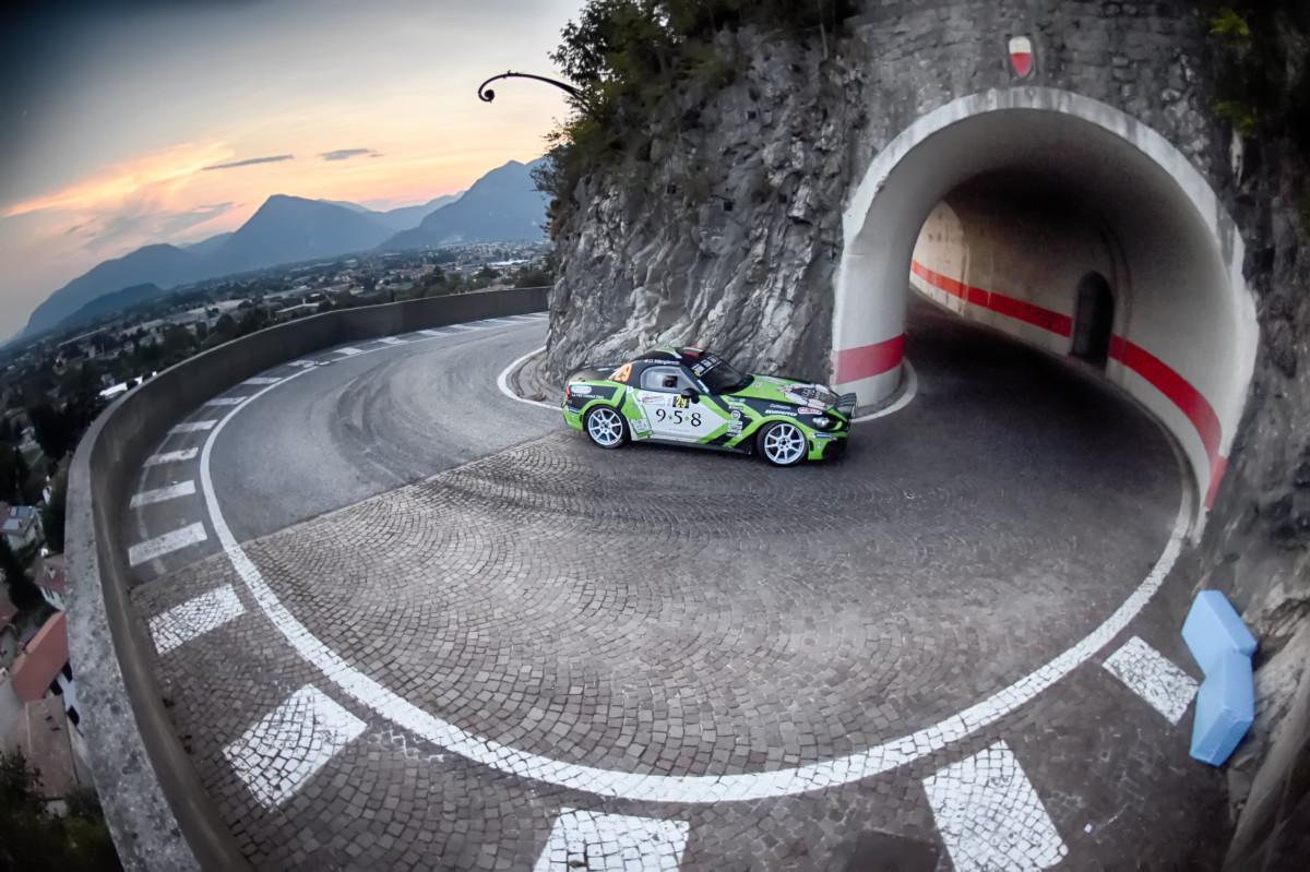 Trofeo Abarth 124 rally: Andolfi campione