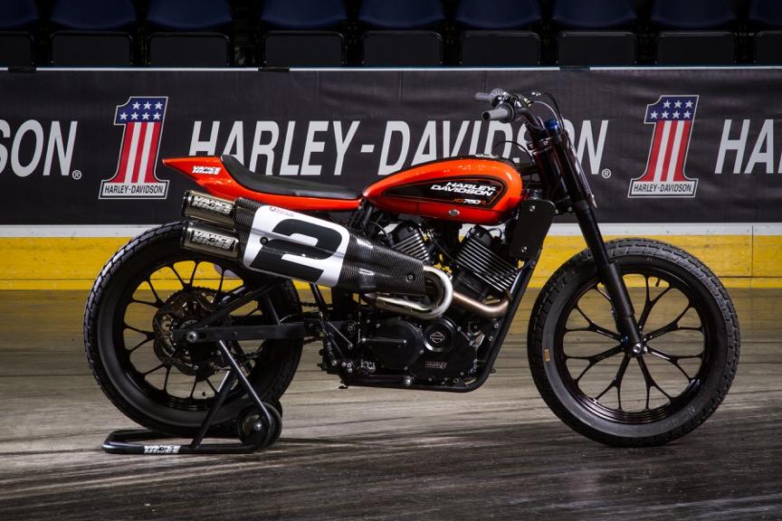 Harley-Davidson Flat Track alla European Bike Week