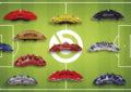 Come frenano i migliori 18 giocatori della Champions