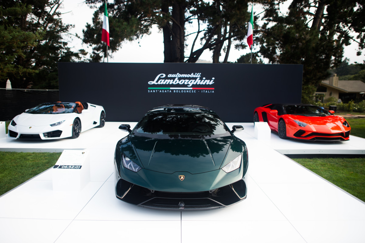 "Tre Lamborghini ""Ad Personam for Pebble Beach"""