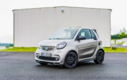 smart BRABUS '15th anniversary edition'