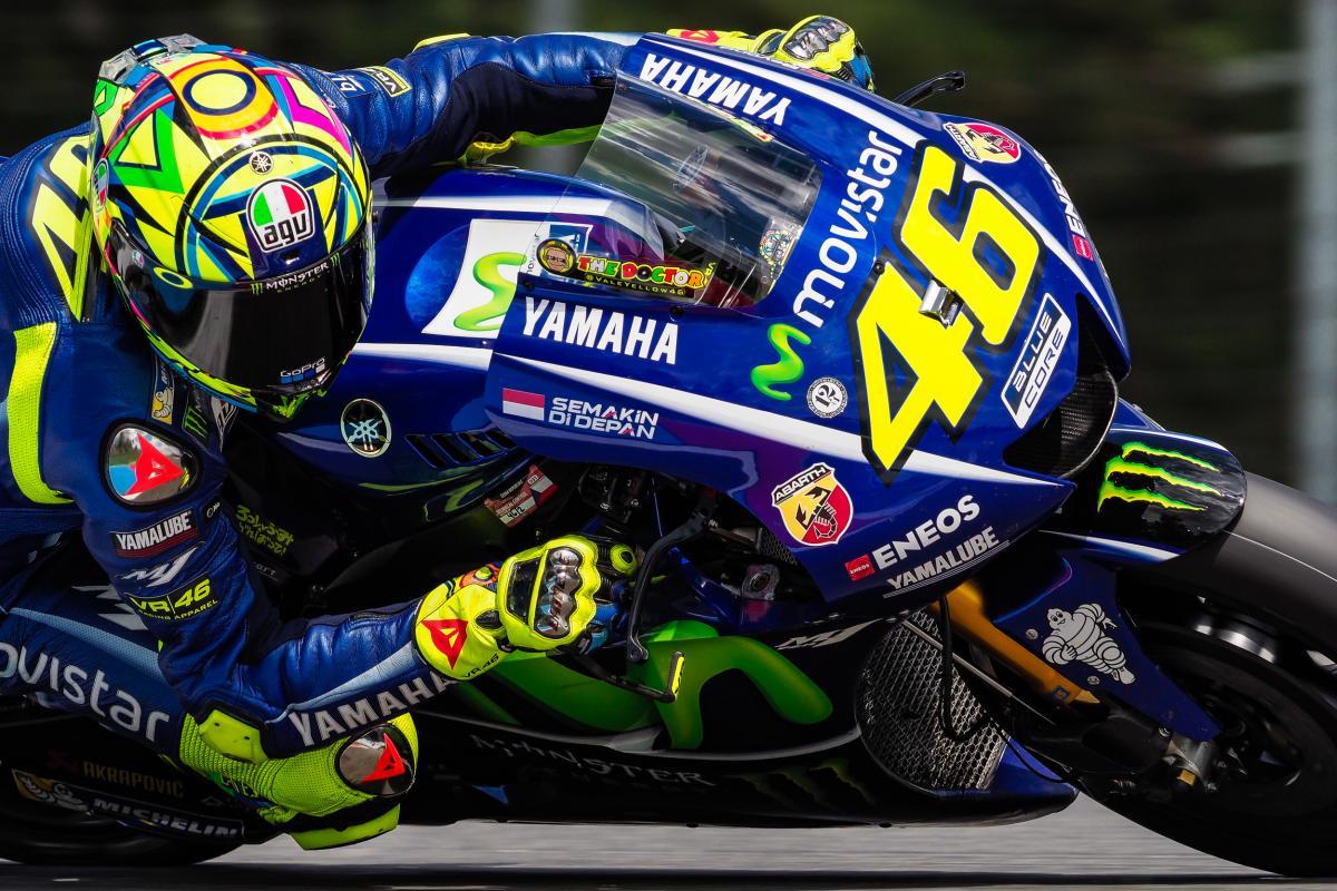 A Valentino Rossi piace la nuova carenatura