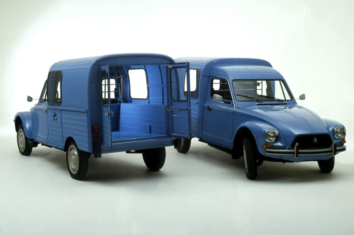 50 anni fa: Acadiane, la versione furgonetta di Dyane