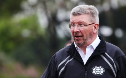 Premio F1 Excellence Award by Brembo a Ross Brawn