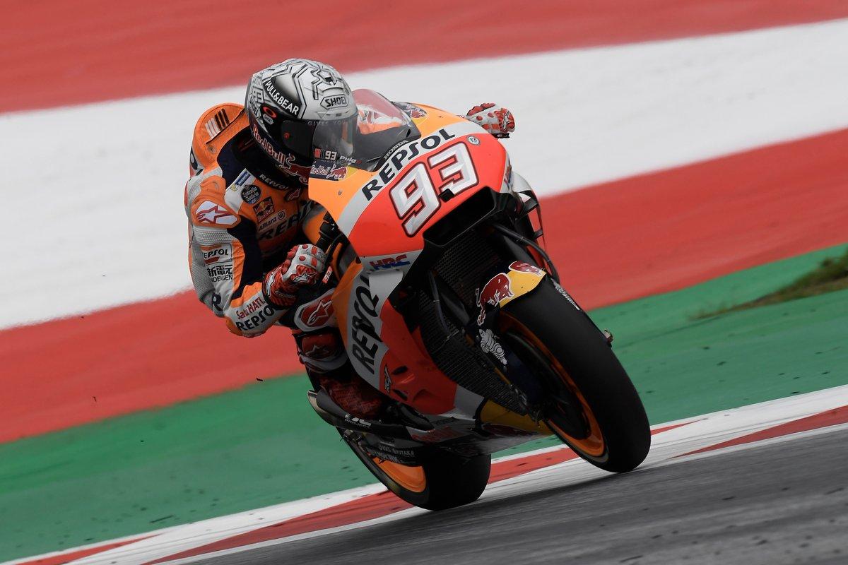 Austria: Marquez in pole davanti alle Ducati