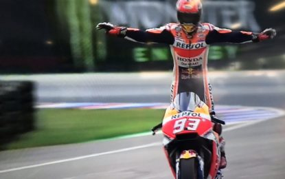 MotoGP: vince Marquez, con una strategia perfetta. Rossi 4°