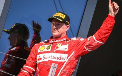 Scuderia Ferrari e Kimi Raikkonen rinnovano il contratto