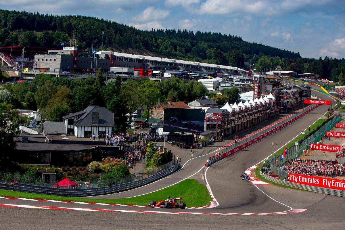 Belgio: Ferrari pronta il mitico tracciato di Spa