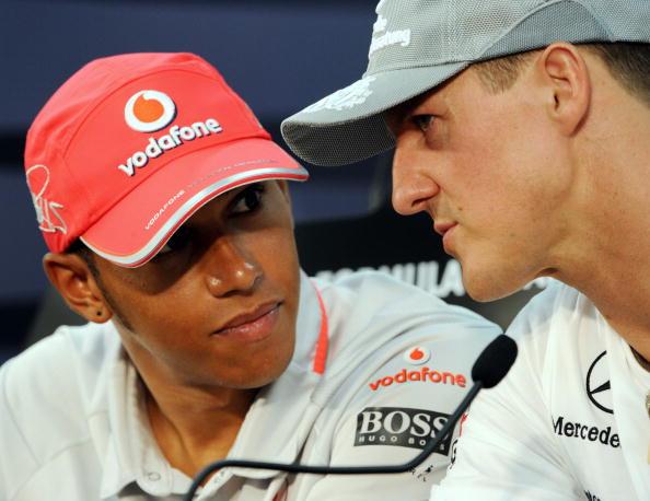 Lewis Hamilton e l'emozione delle 68 pole come Schumacher