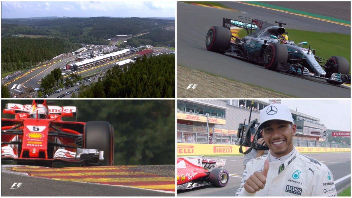GP Belgio: la griglia di partenza ufficiale