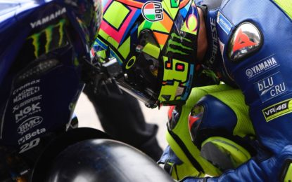 Valentino Rossi ricoverato dopo incidente in moto