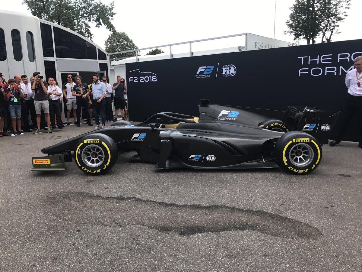 A Monza presentata la F2 2018