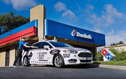 Ford e Domino's Pizza per la guida autonoma