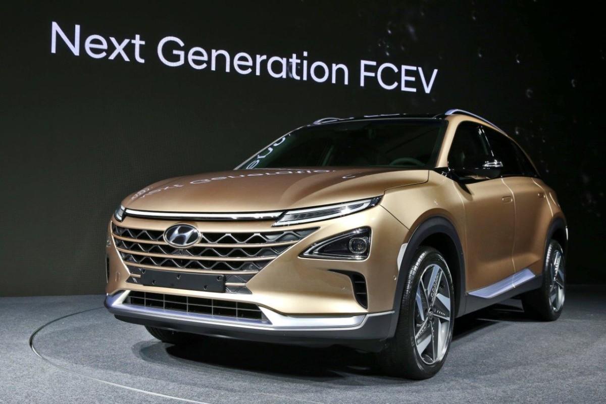 Hyundai presenta il nuovo SUV Fuel Cell