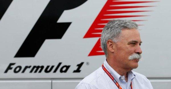 Carey pensa a motore e costi per migliorare la F1