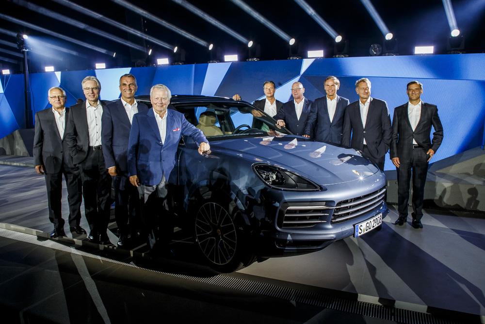 Anteprima mondiale nuova Porsche Cayenne