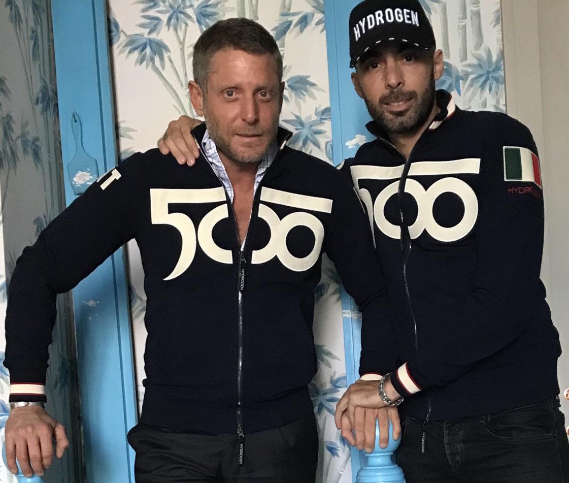500byHydrogen: una felpa per celebrare la 500