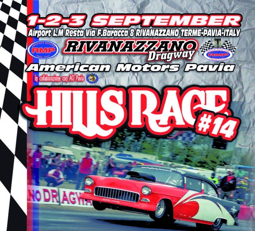 Hills Race 2017: evento annullato