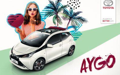Nuova Toyota Aygo X-Wave