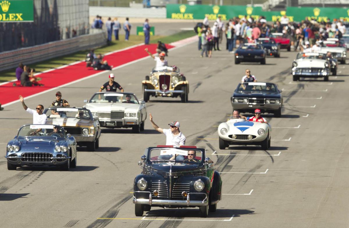 Al GP d'Italia due Drivers Parade, a Milano e Monza